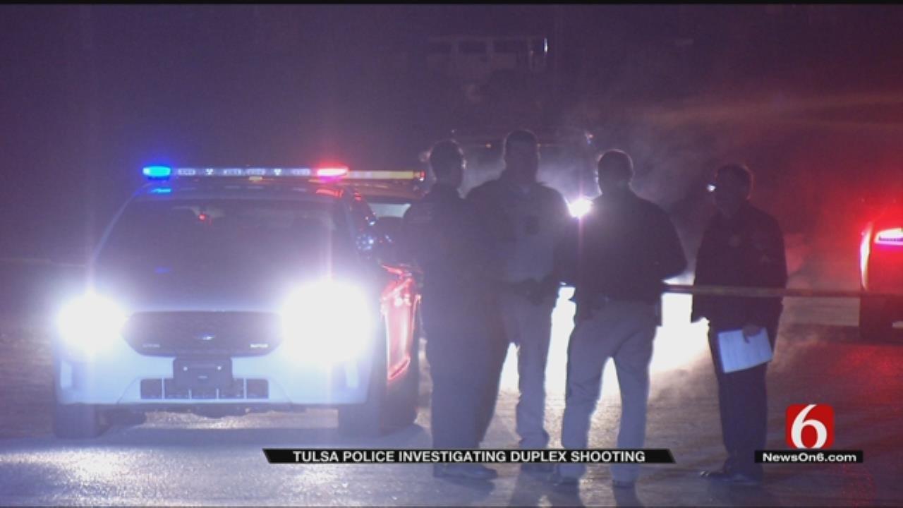 Police: Man Shot During Argument At Tulsa Duplex
