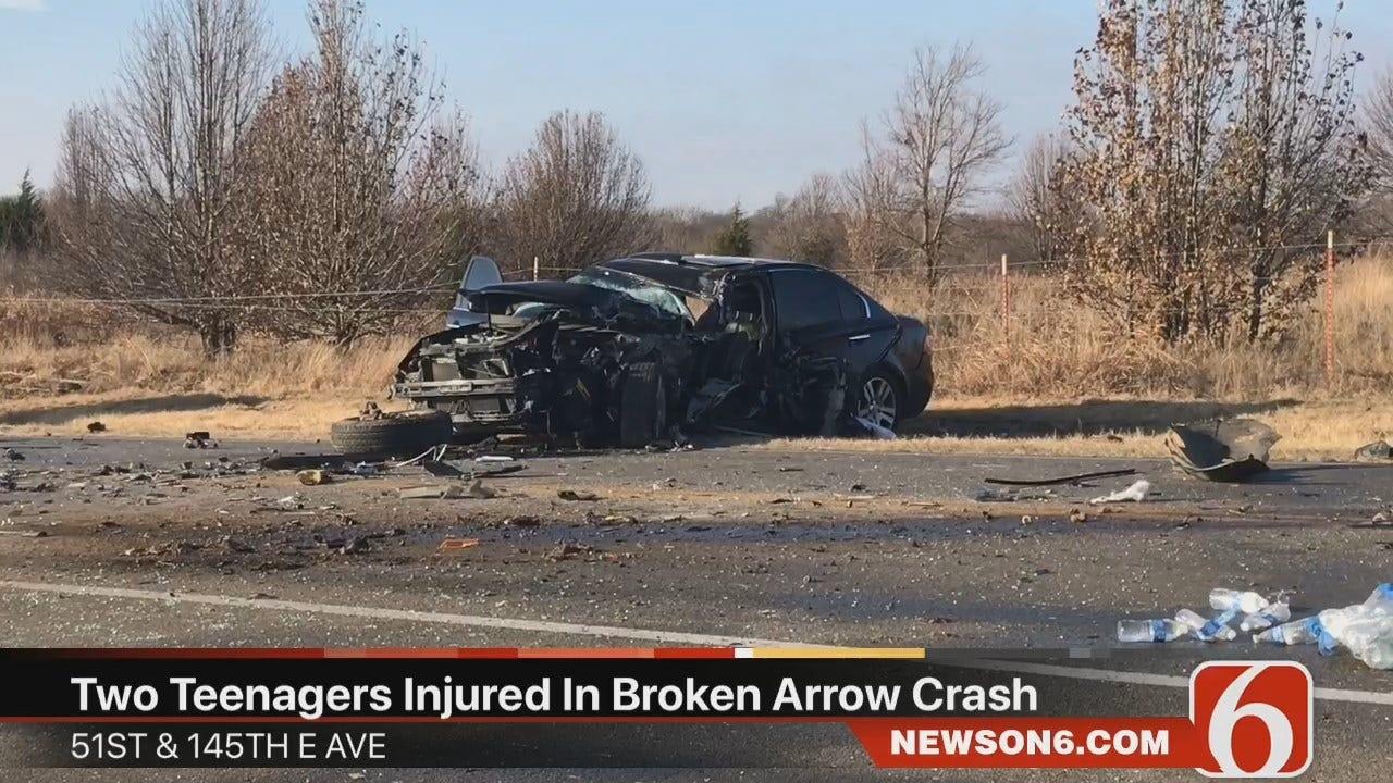 Tess Maune Video Of Broken Arrow Wreck Involving Two Teens