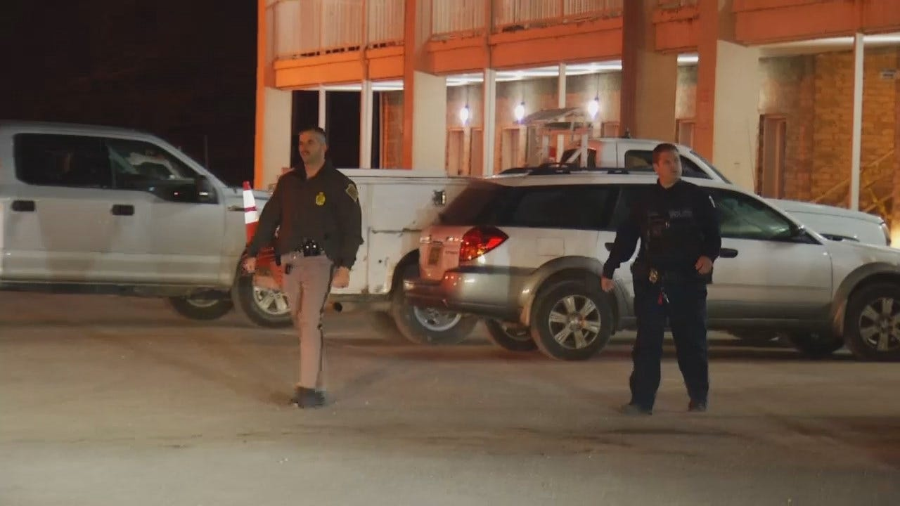 Video From Checotah Motel Where FBI Arrested Kidnapping Suspect