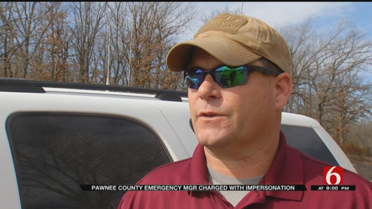 Pawnee County Man Charged With Impersonating An Officer
