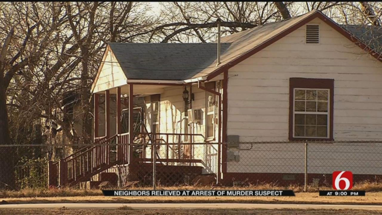 Tulsa Neighborhood Relieved After Arrests Made In Thanksgiving Day Murder
