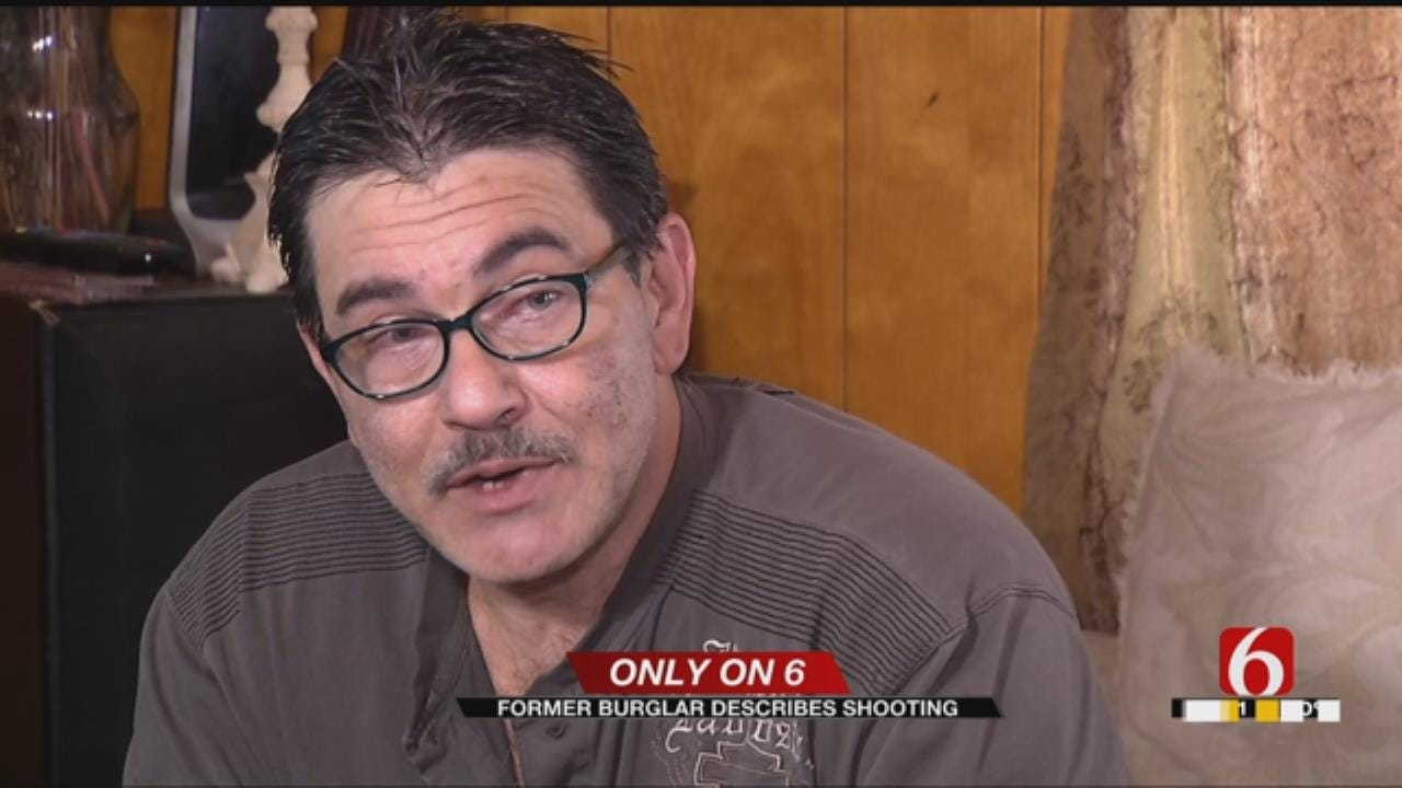 Former Burglar Shot During Robbery Speaks Out