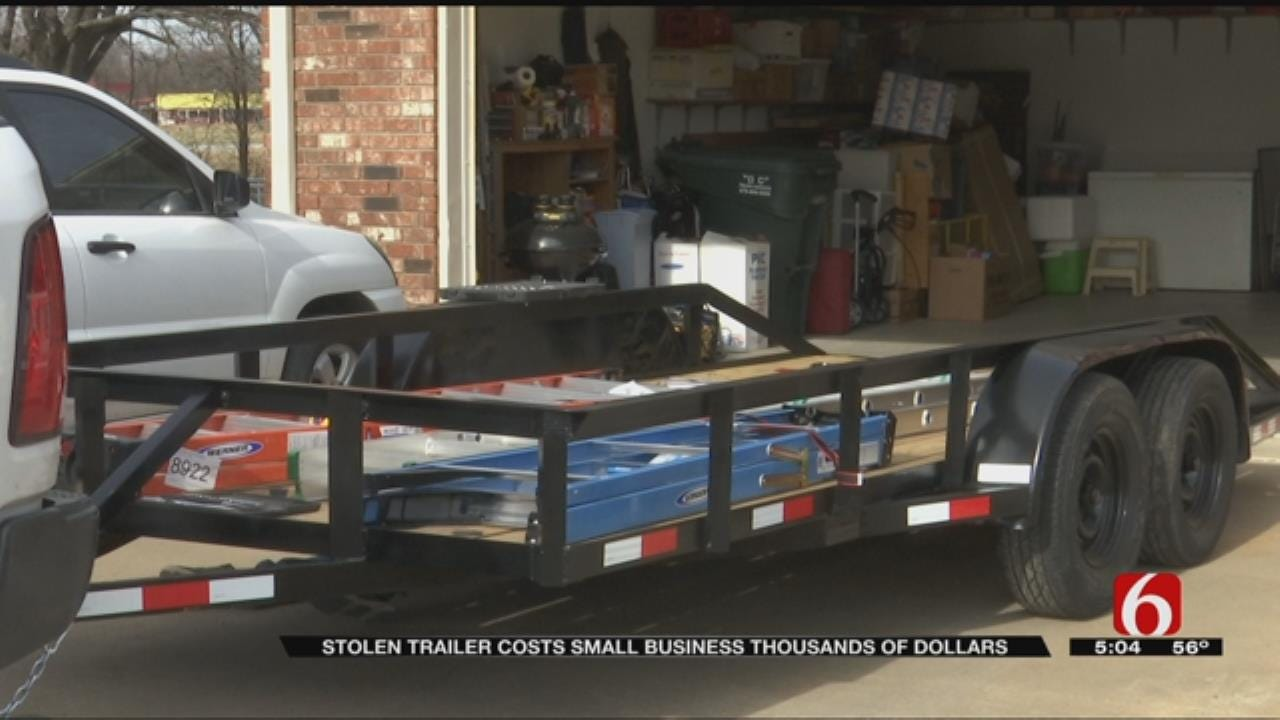 Chouteau Man Loses Valuable Business Trailer To Thieves