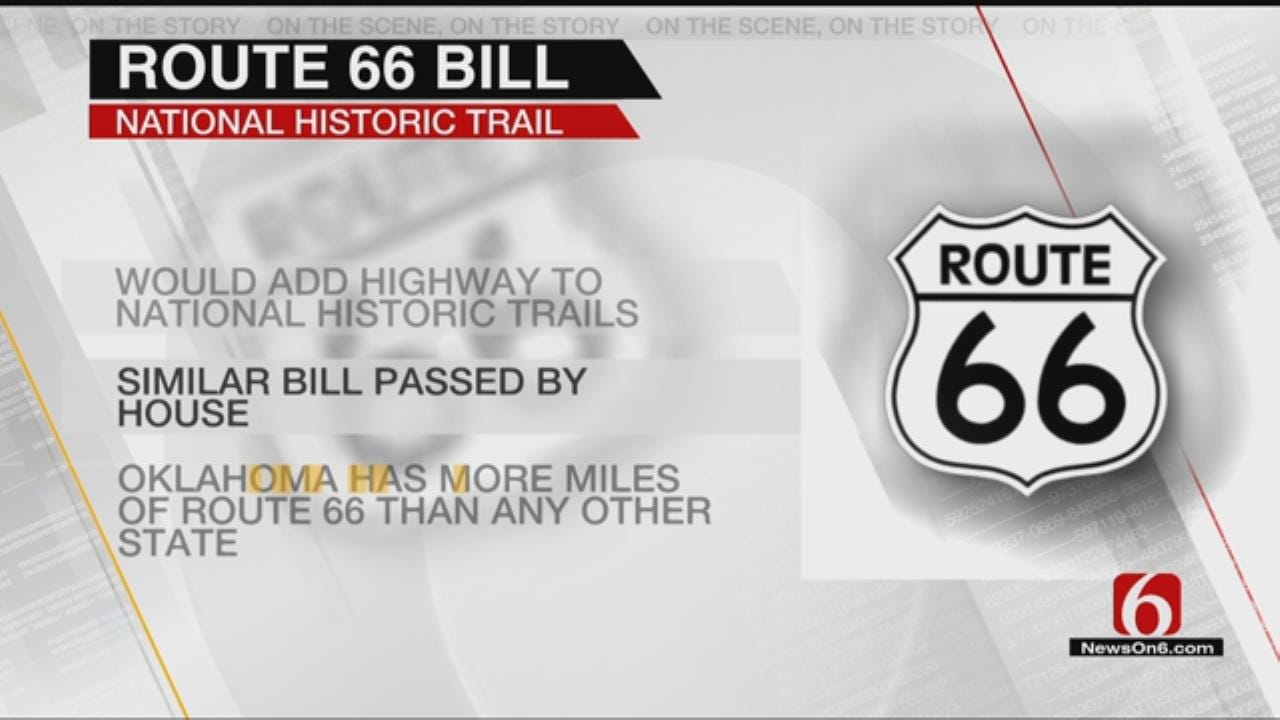 Bill Would Designate Route 66 As National Historic Trail
