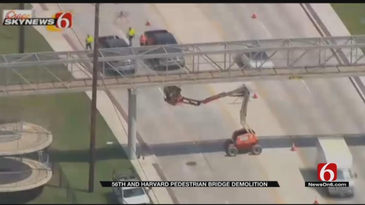 Corroded Tulsa Pedestrian Bridge To Be Demolished