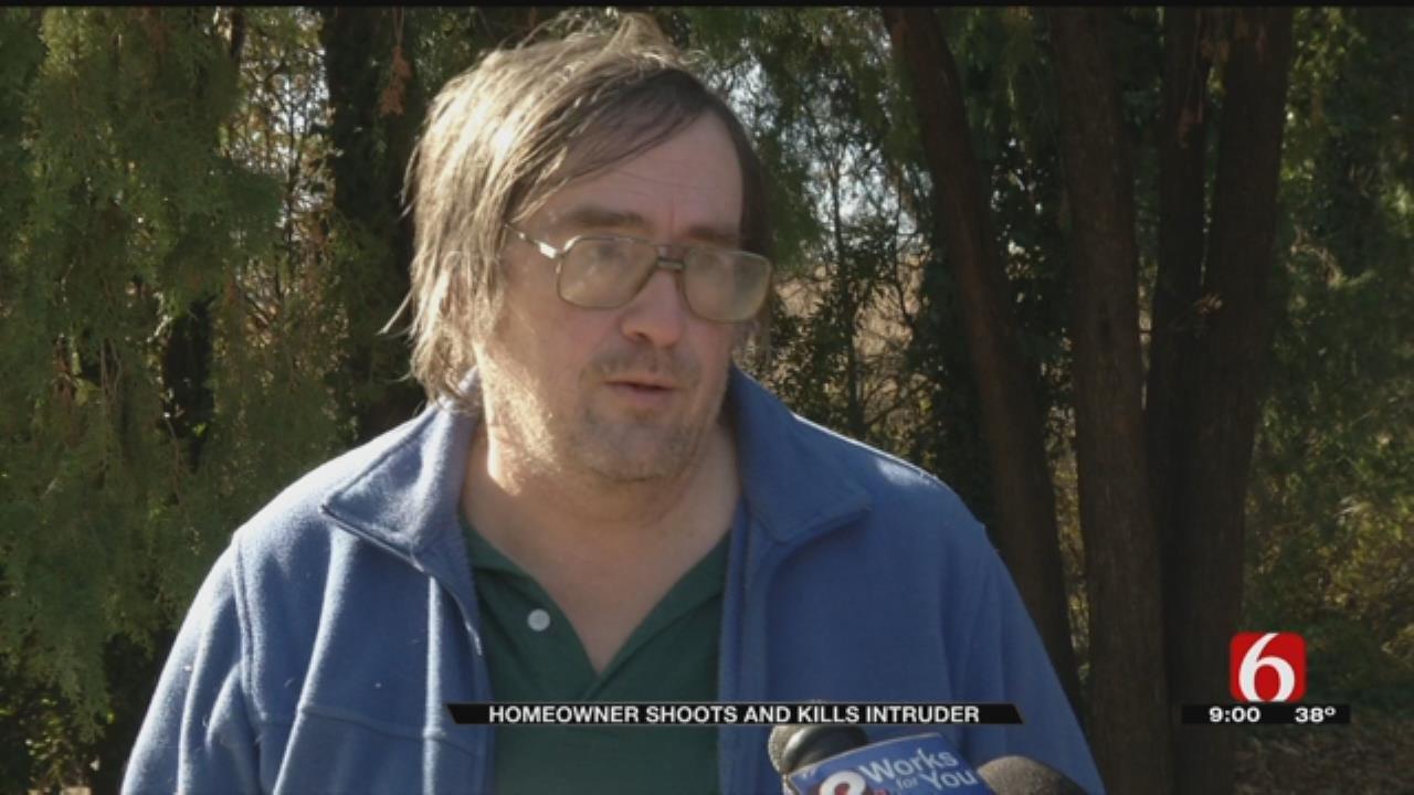 Tulsa Homeowner Describes Shooting, Killing Intruder