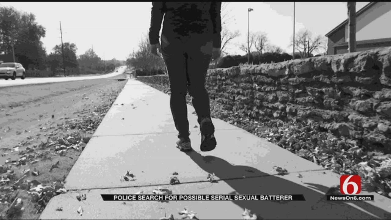 Tulsa Police Look For Serial Sexual Battery Suspect