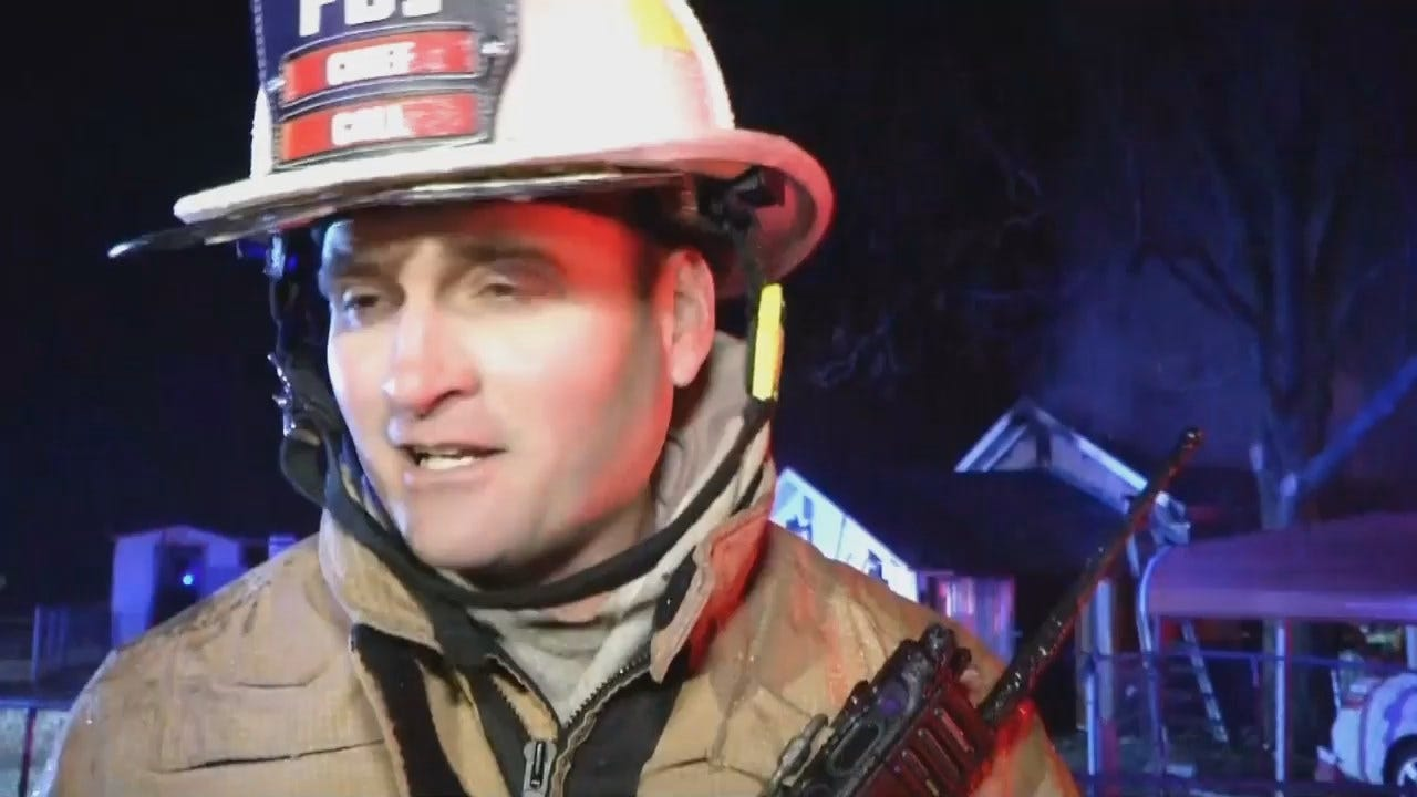WEB EXTRA: Collinsville Fire Chief Harold Call Talks About The Fire