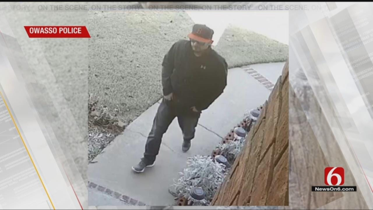 Police Looking For Suspected Owasso Porch Thief