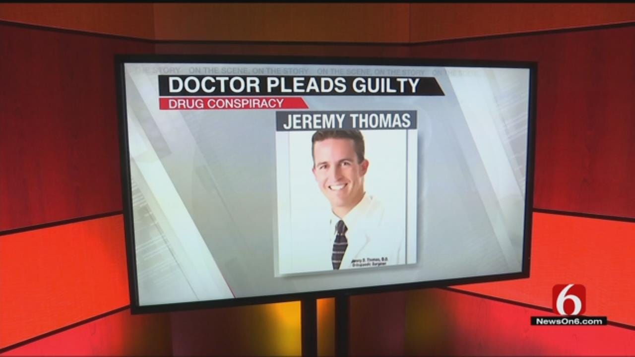 Claremore Doctor Pleads Guilty To Drug Conspiracy