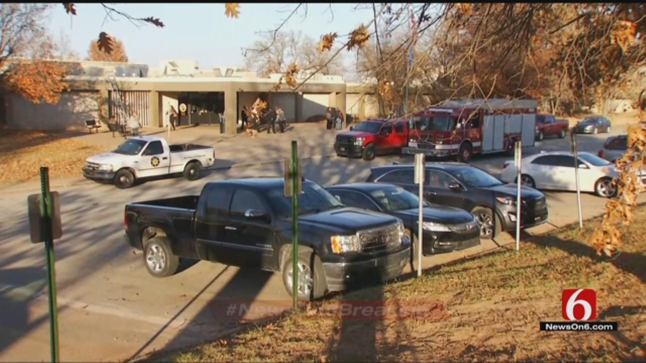 Sand Springs Middle School Evacuated
