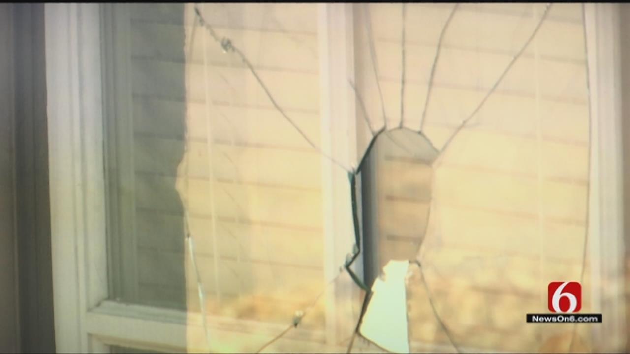 Vandals Destroy Several Windows At Tulsa Church