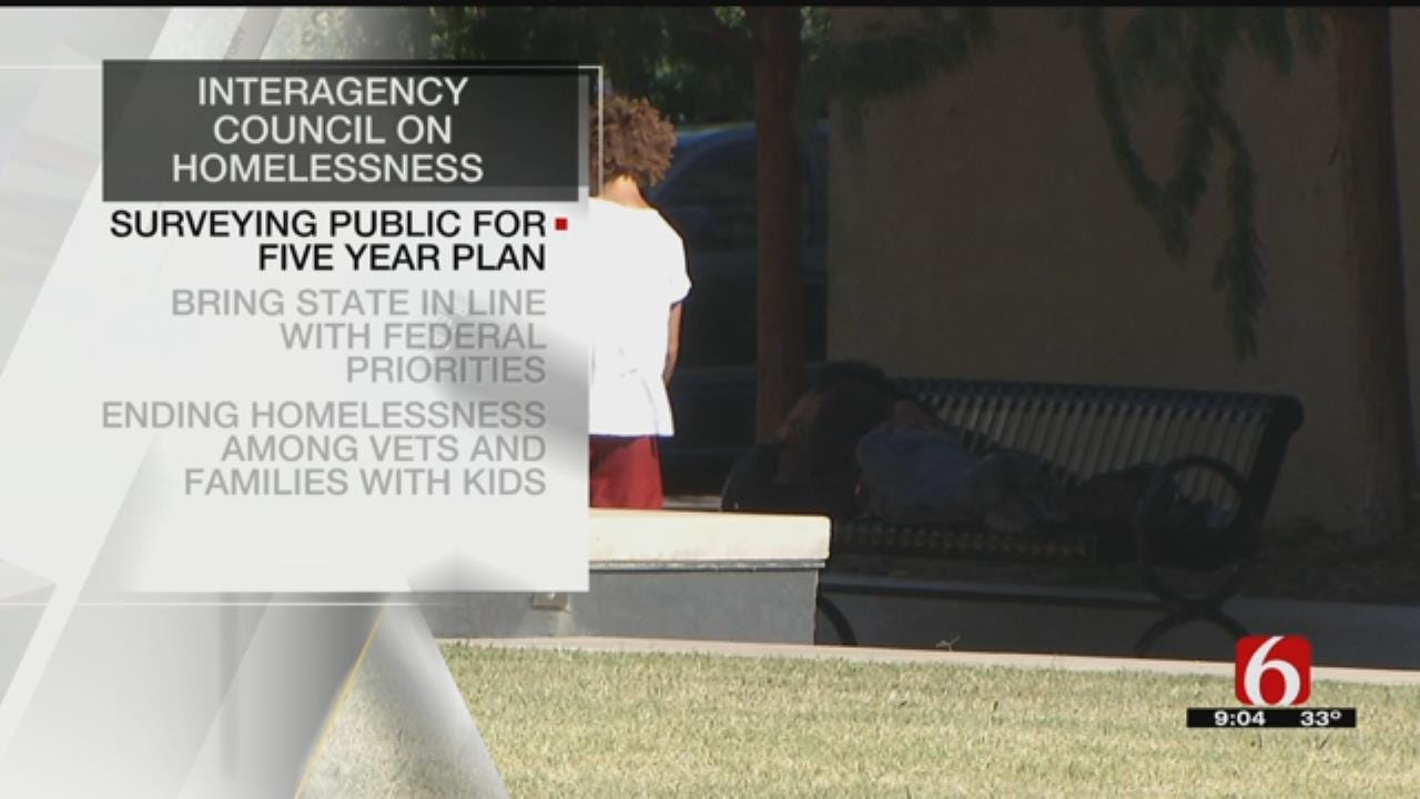 Oklahoma Council Developing Plan To Address Homelessness