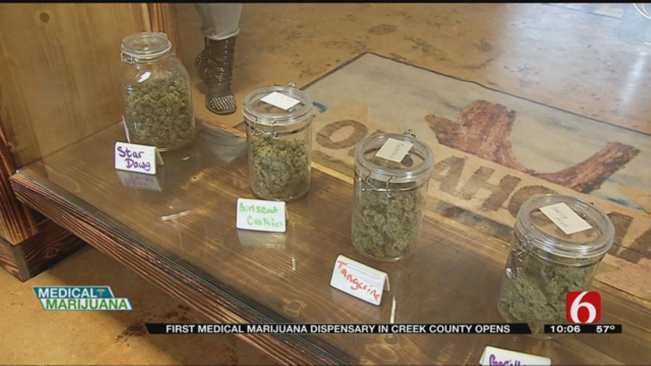 First Medical Marijuana Dispensary Opens In Creek County
