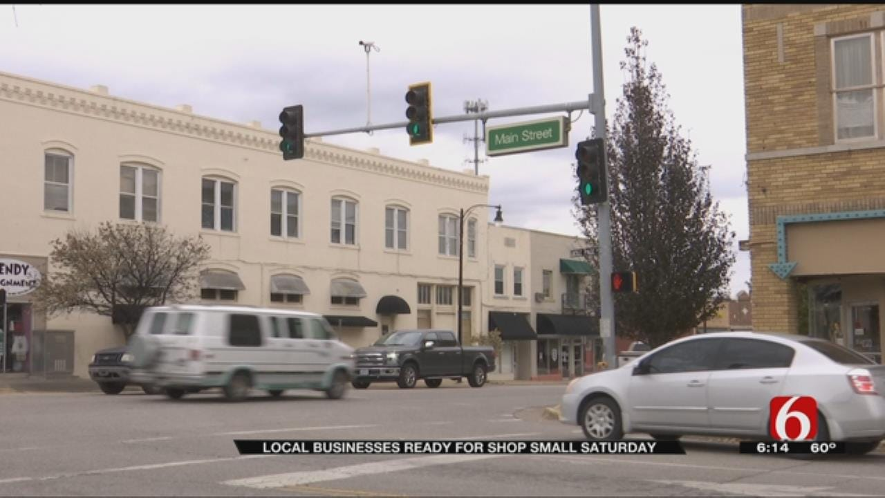 """Sand Springs Business Owners Start """"Shop Small Saturdays"""""""