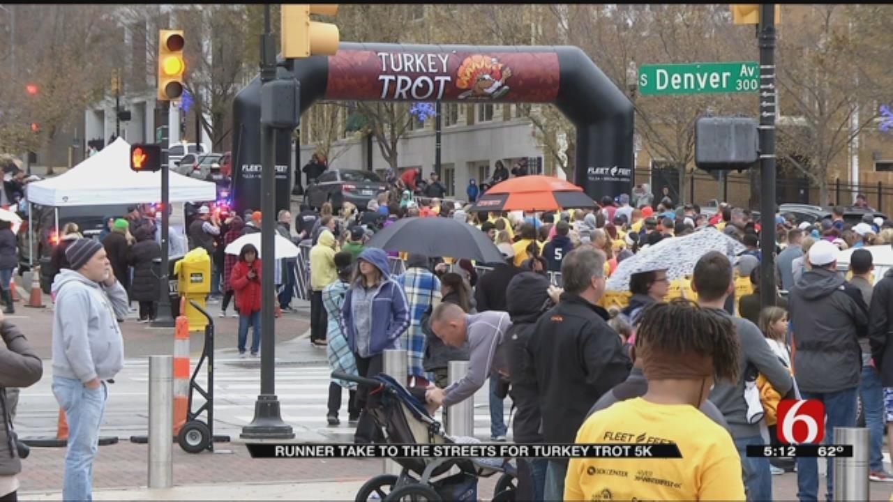 Turkey Trot 5K In Tulsa Draws Hundreds Of Runners