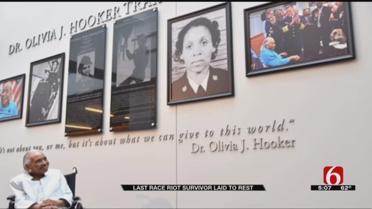 Funeral Held For Survivor Of 1921 Tulsa Race Massacre