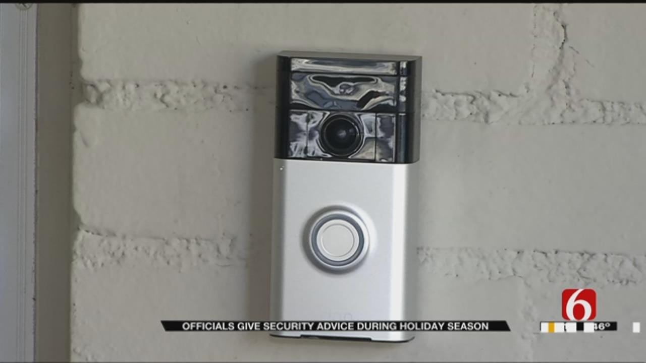 Tulsa Police Stress Importance Of Home Security During Holidays