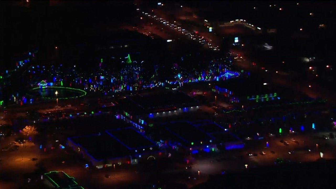 More Than 2,000,000 Christmas Lights Turned On At Rhema