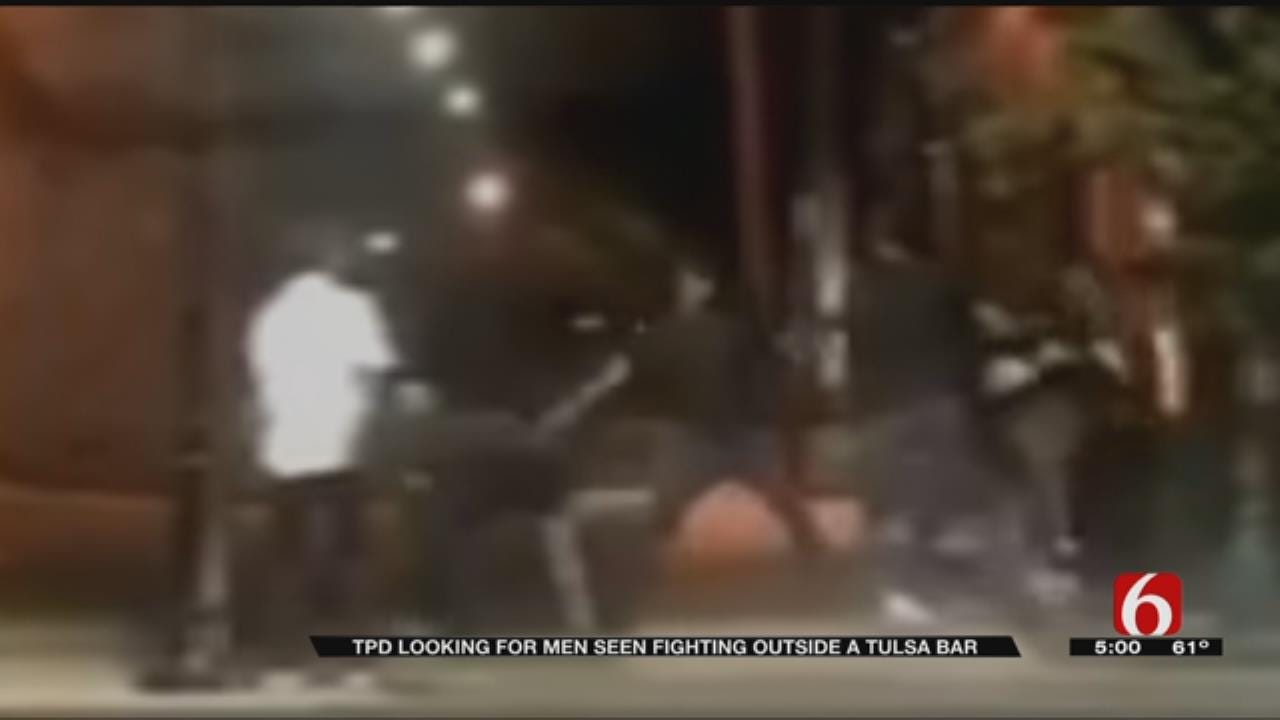 Man Knocked Unconscious Outside Downtown Tulsa Bar