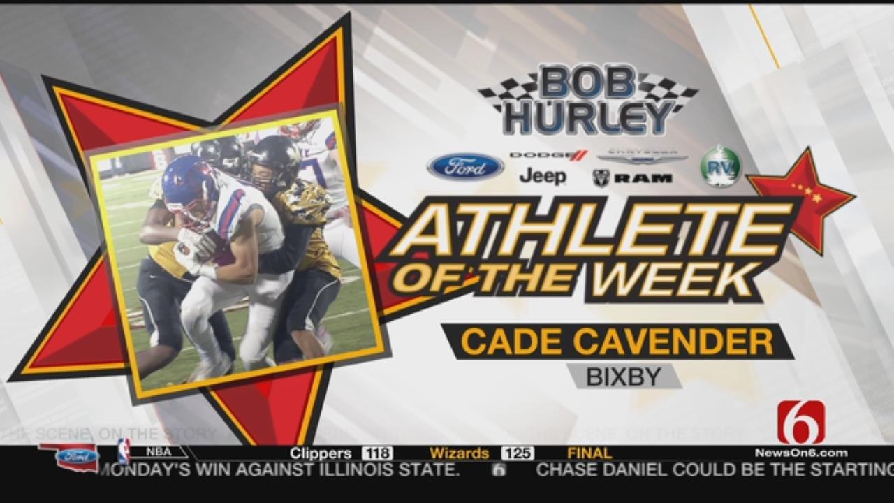 Week 12 Athlete Of The Week: Bixby's Cade Cavender