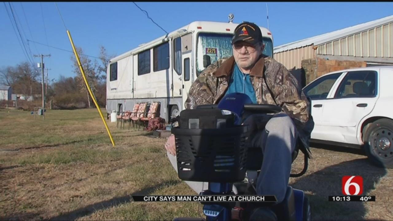 City Of Copan Tells Man Living On Church Property He Has To Move