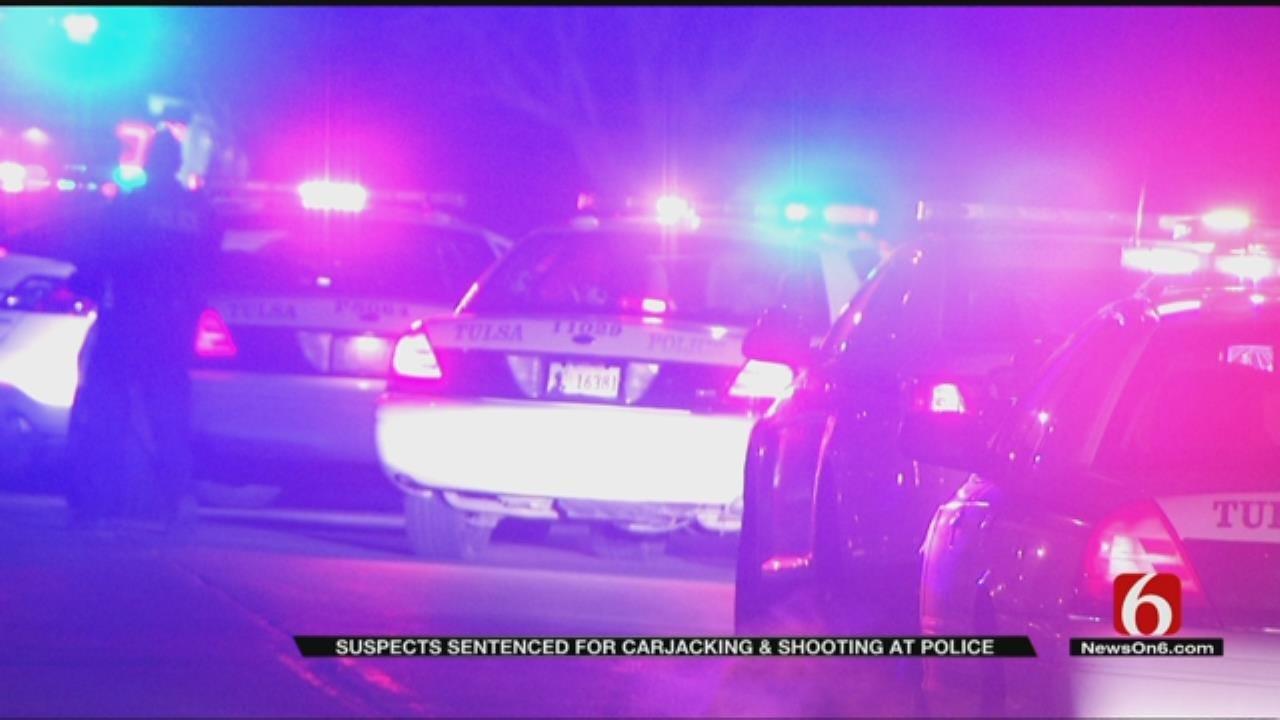 Men Sentenced To Federal Prison In Tulsa Carjacking, Shooting