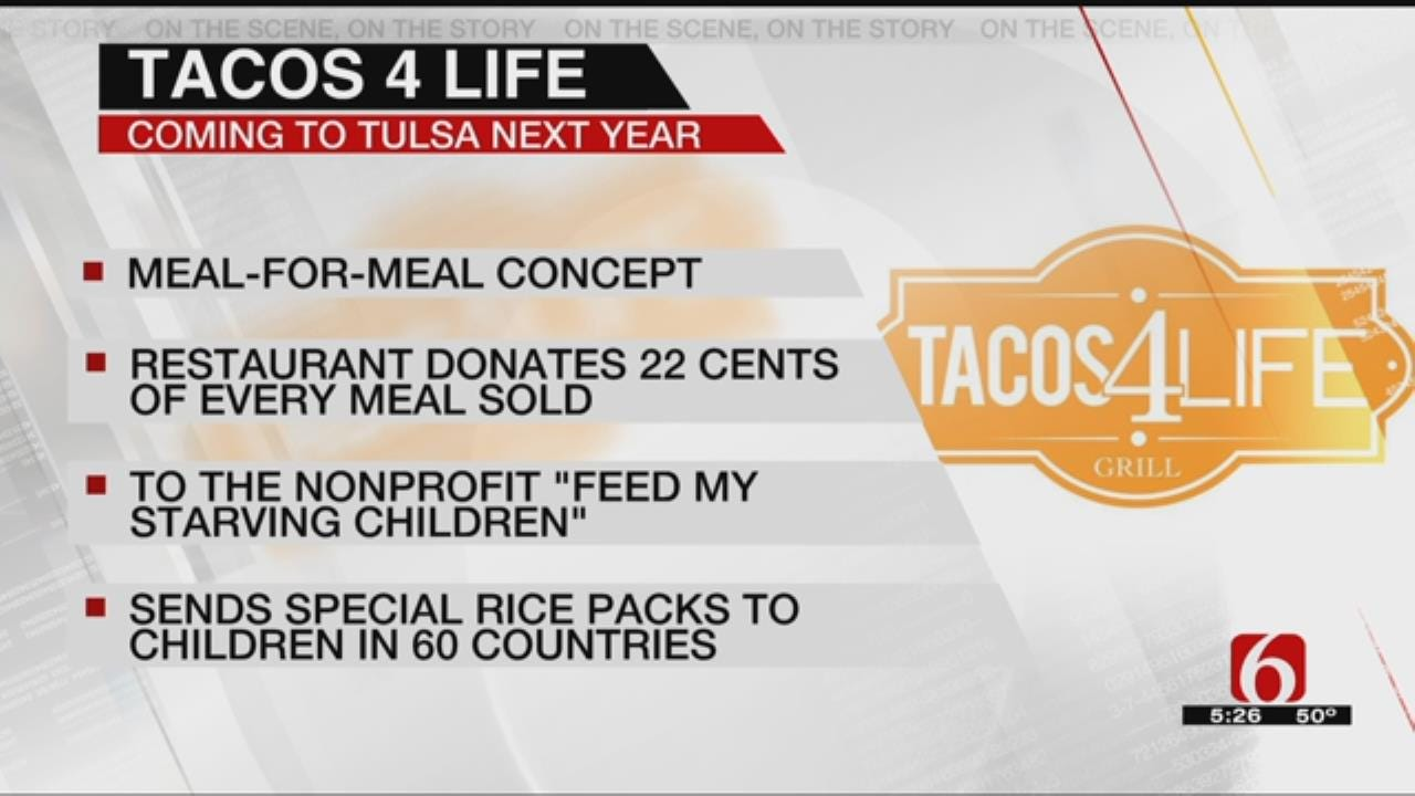 New Restaurant Coming To Tulsa Says It Donates Part Of Each Purchase To Charity