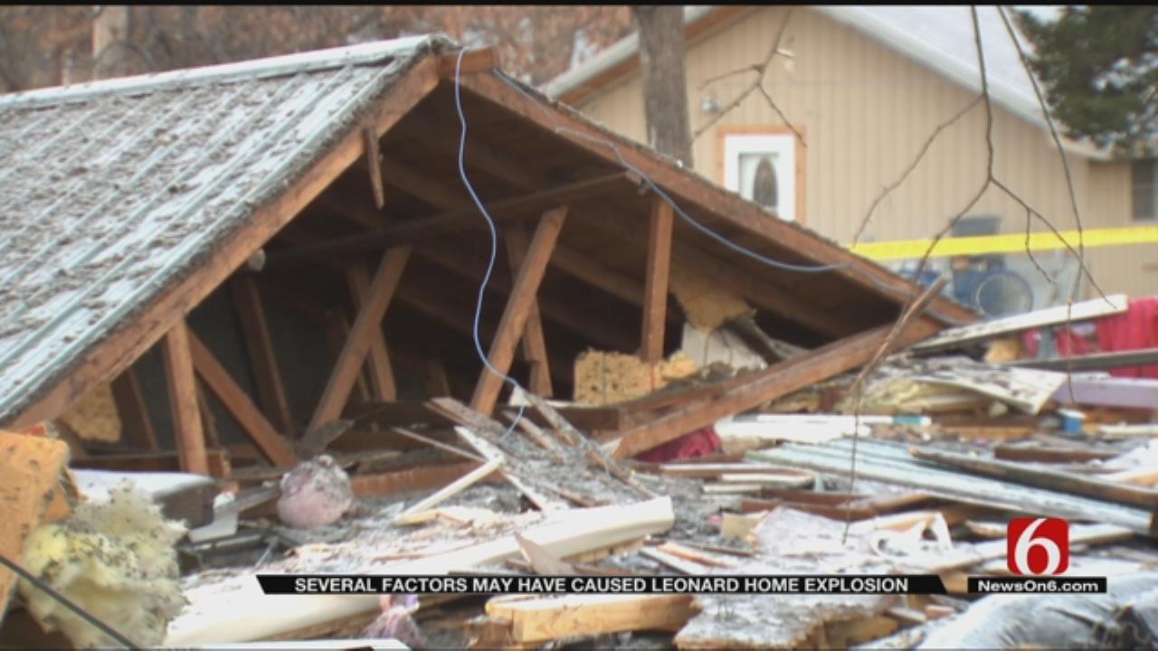 Investigators Still Working To Determine Cause Of Leonard House Explosion
