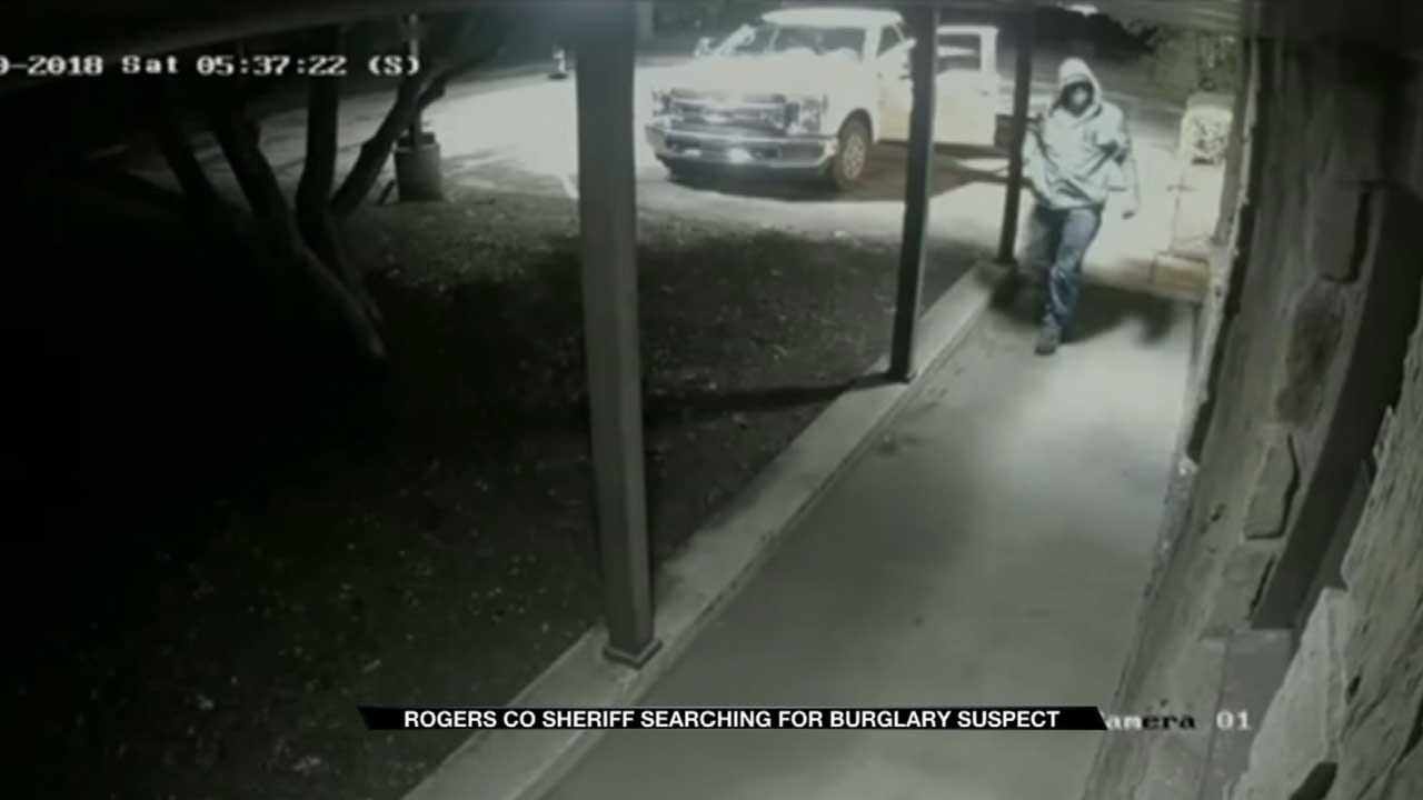 Deputies Search For Rogers County Burglary Suspect