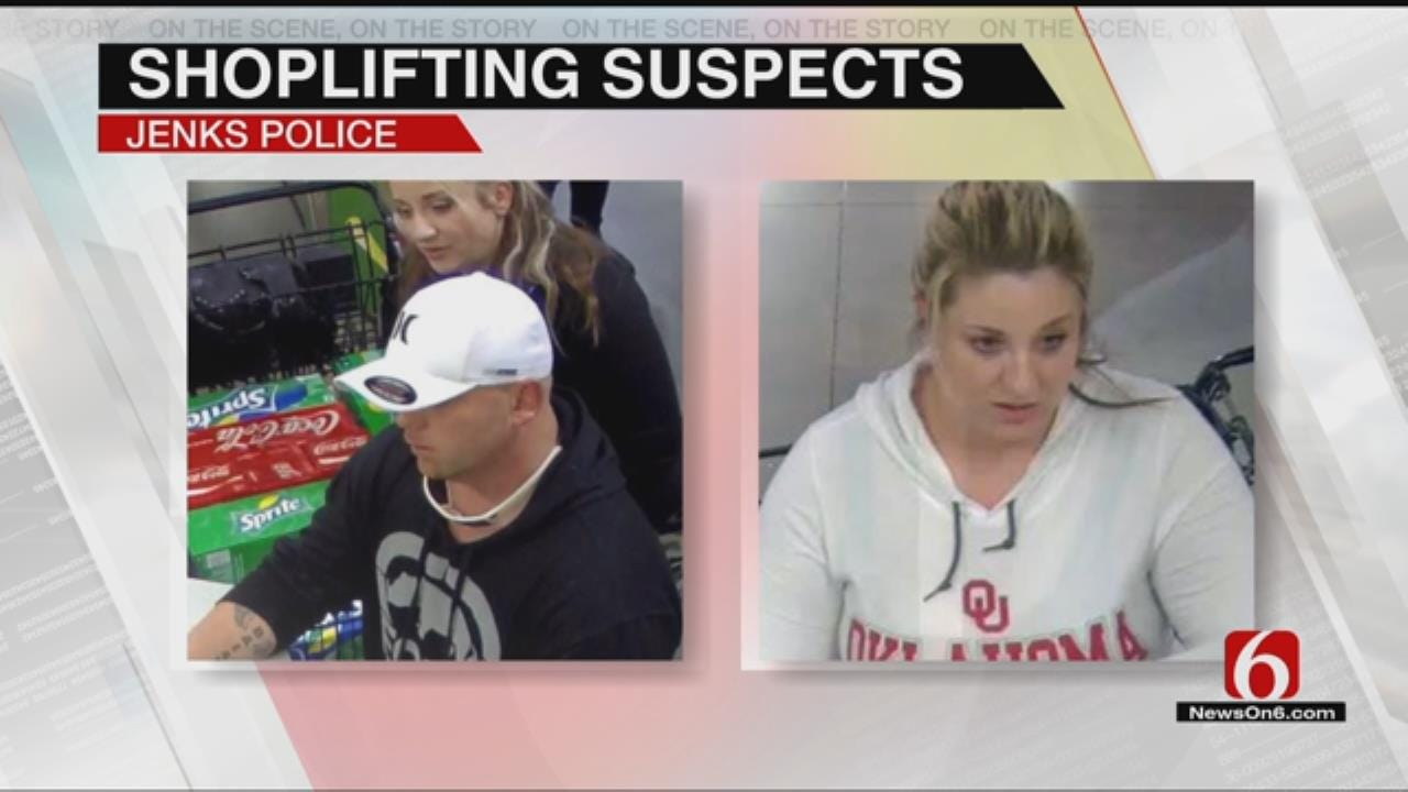 Jenks, Owasso Police Search For Shoplifting Suspects