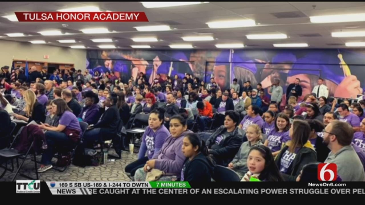 Big Crowd Pushes For Expansion Of Tulsa Charter School
