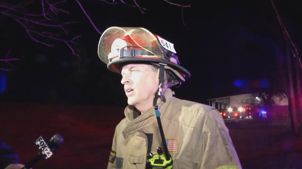 WEB EXTRA: Tulsa Fire Captain Mike Burgess Talks About Rescue
