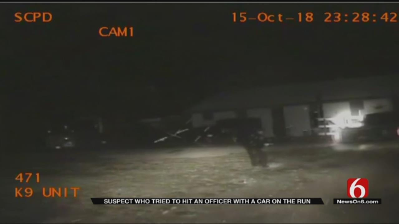 U.S. Marshals Search For Oklahoma Chase Suspect