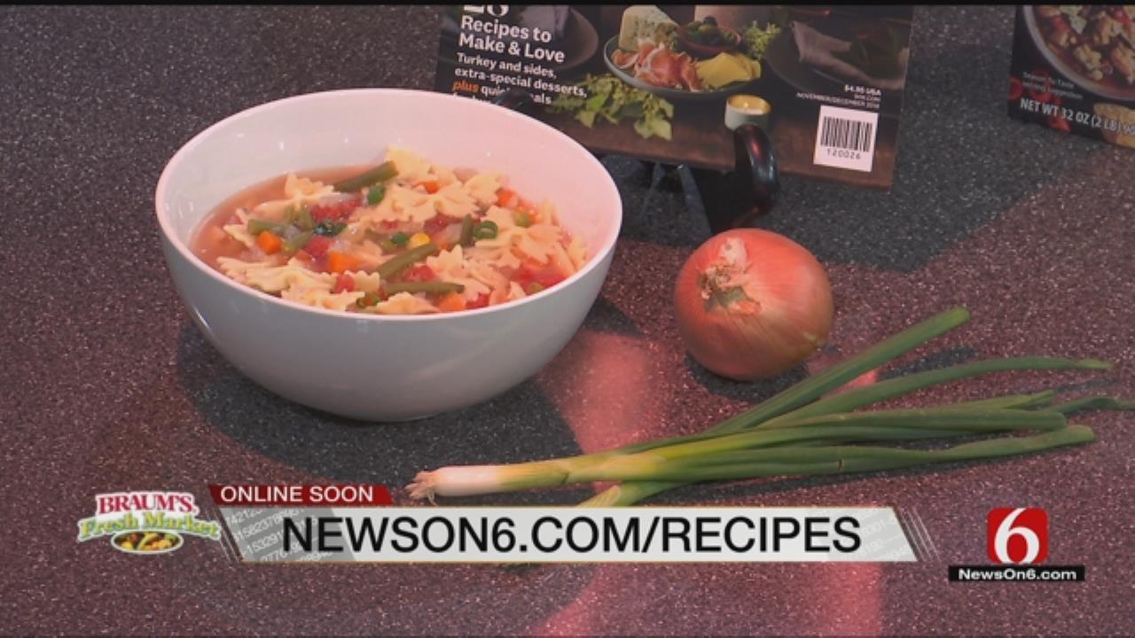 Super-Easy Chicken Noodle Soup