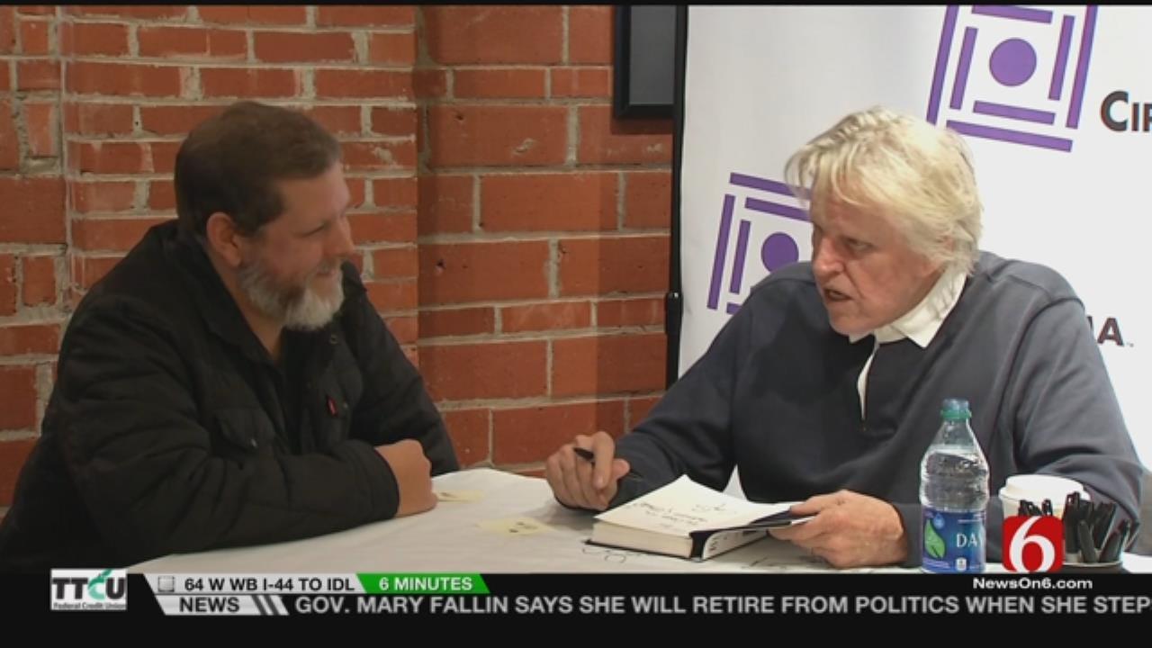 Tulsa Native Gary Busey Visits Circle Cinema