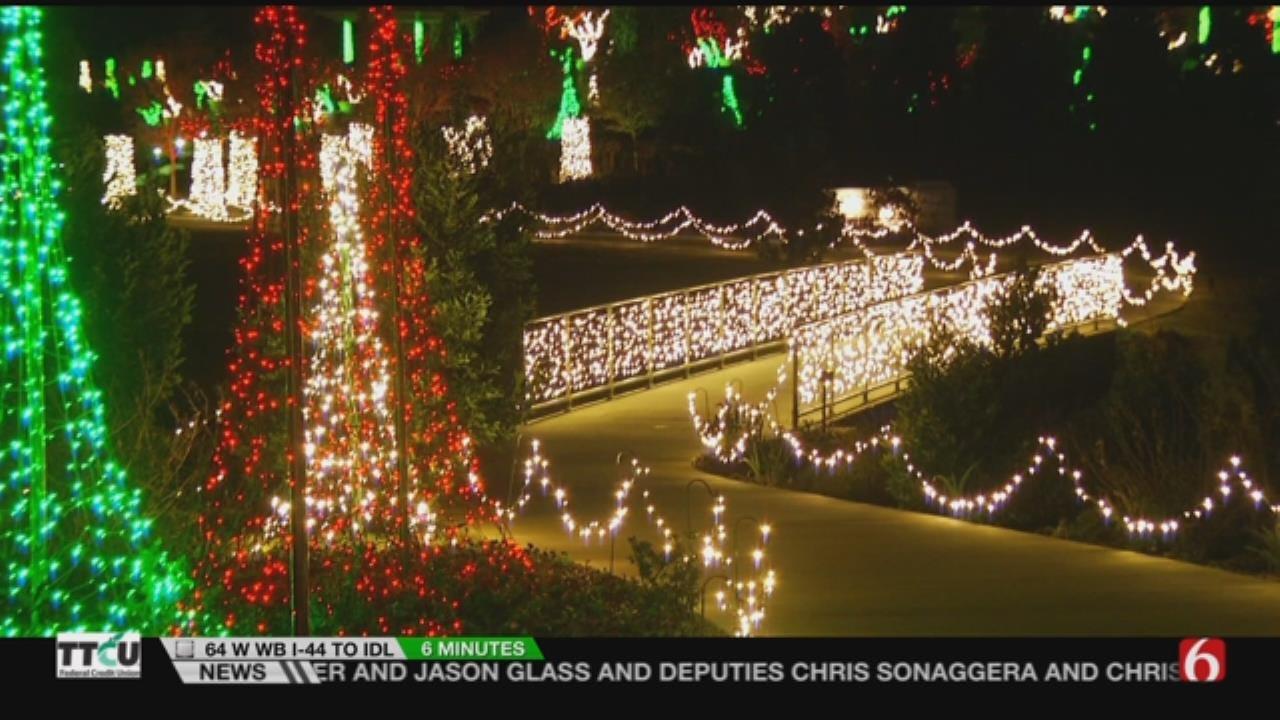 Enjoy Tulsa 'Garden Of Lights' Starting Friday Night