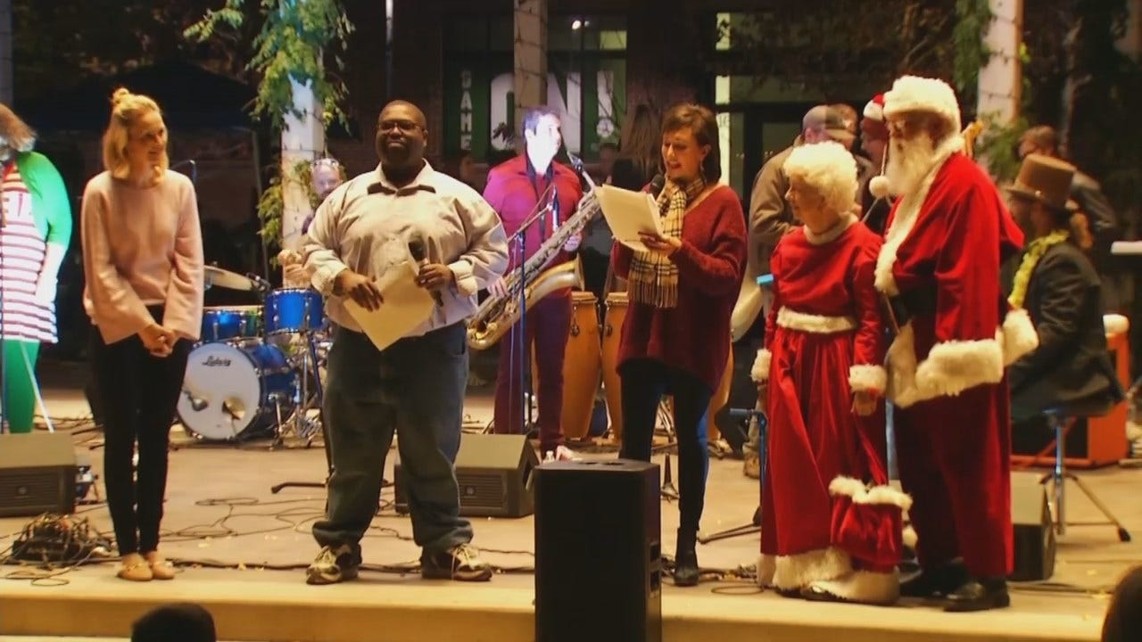 'Glow On The Green' Starts Sunday In Downtown Tulsa
