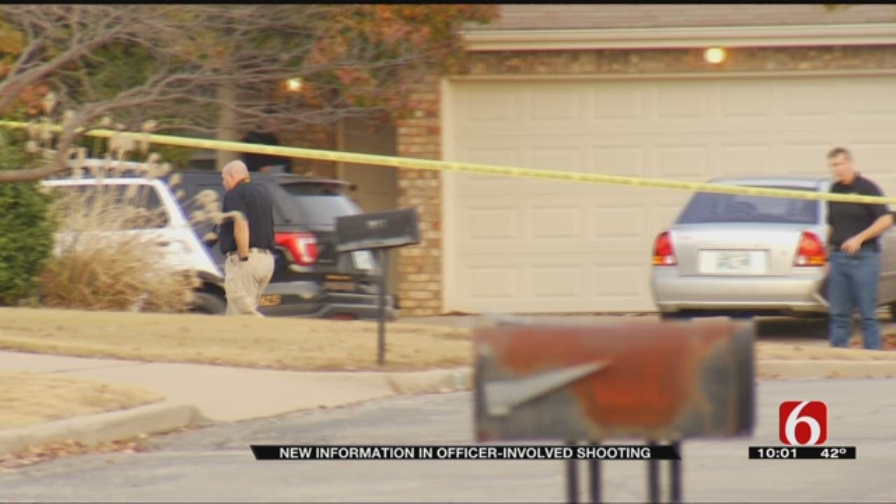Neighbors React To Broken Arrow Officer-Involved Shooting