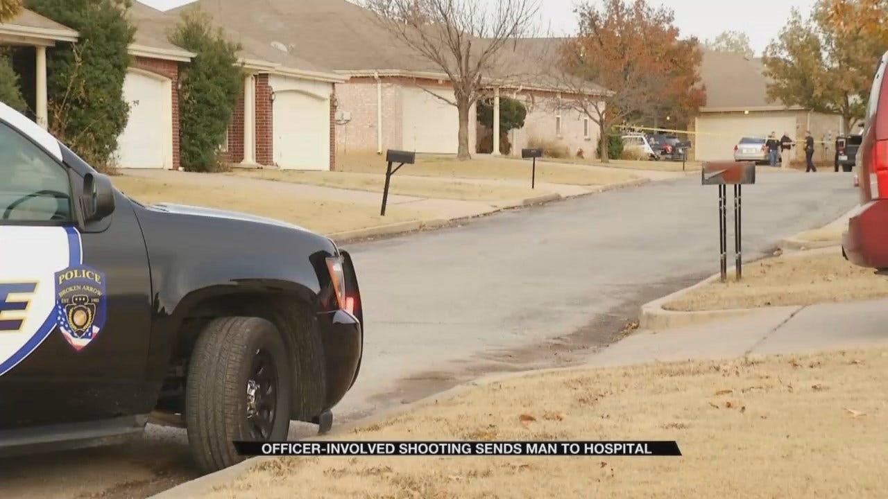 Broken Arrow Police Officer Involved In Shooting