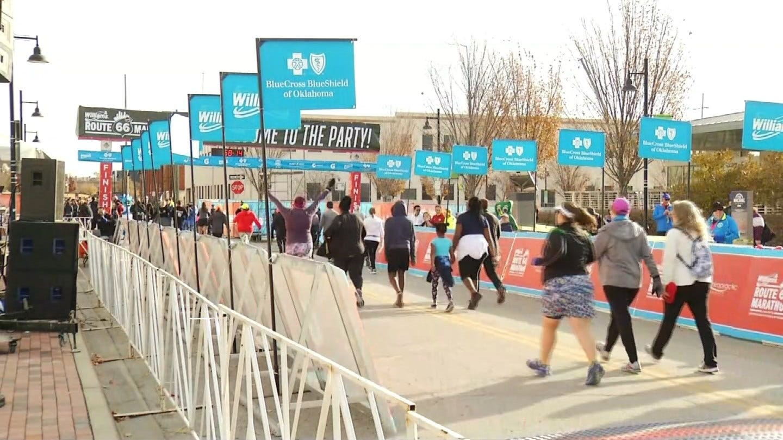 Route 66 Marathon Weekend Kicks Off In Downtown Tulsa