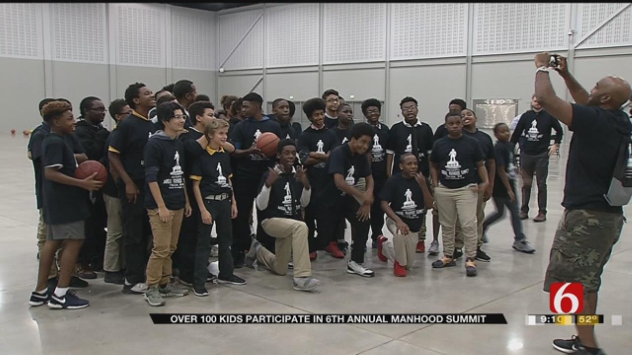 MVP Foundation Hosts Manhood Summit At Cox Business Center