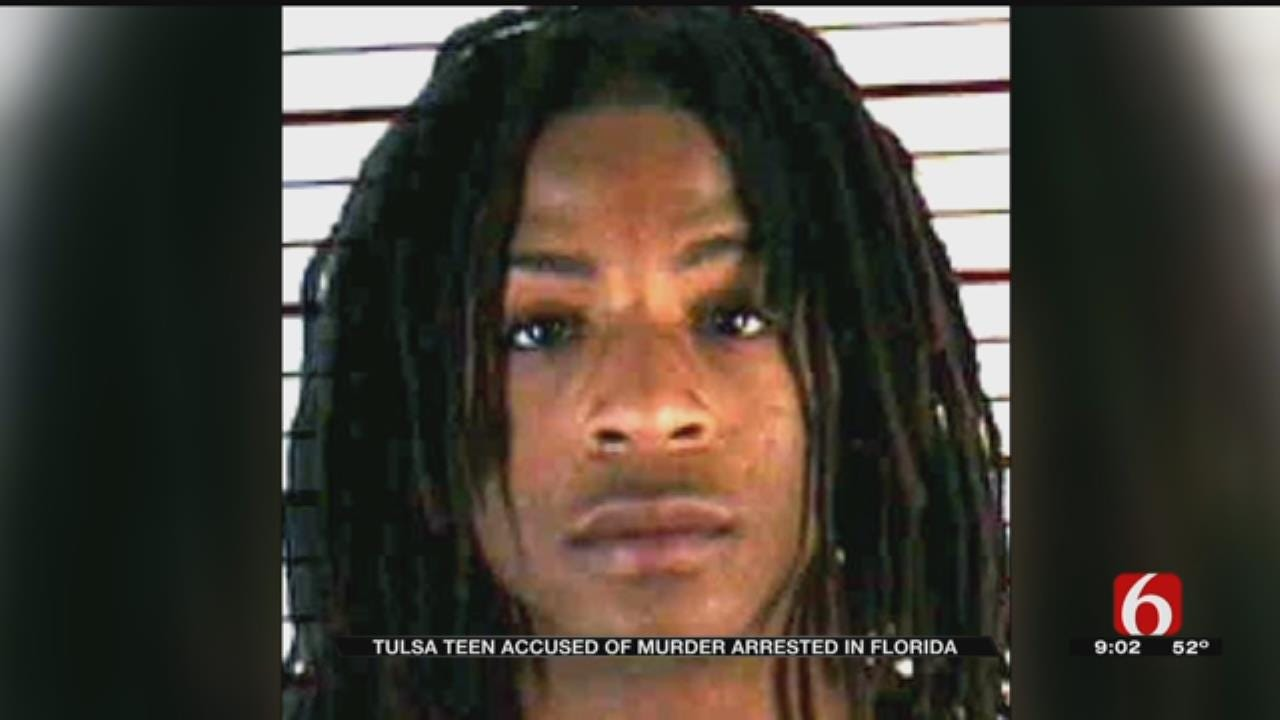 14-Year-Old Tulsa Murder Suspect Arrested In Florida