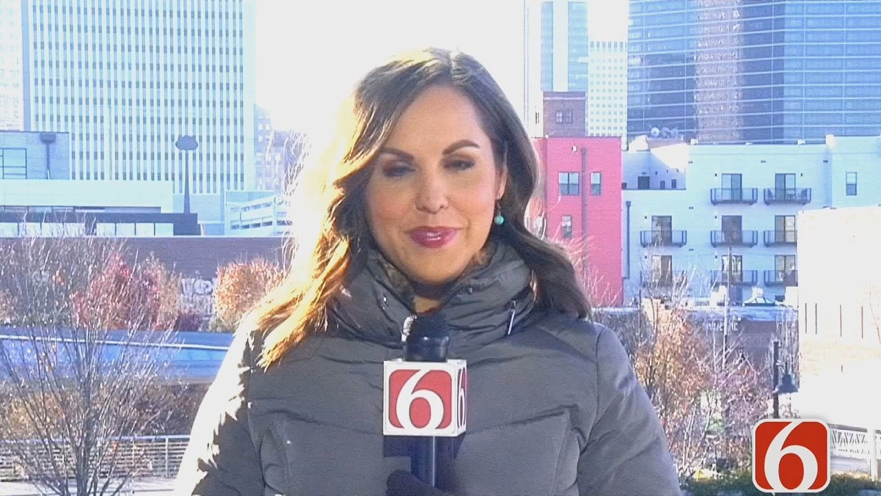 Tess Maune Talks About Creative Tulsa Business Community Holding Holiday Block Party