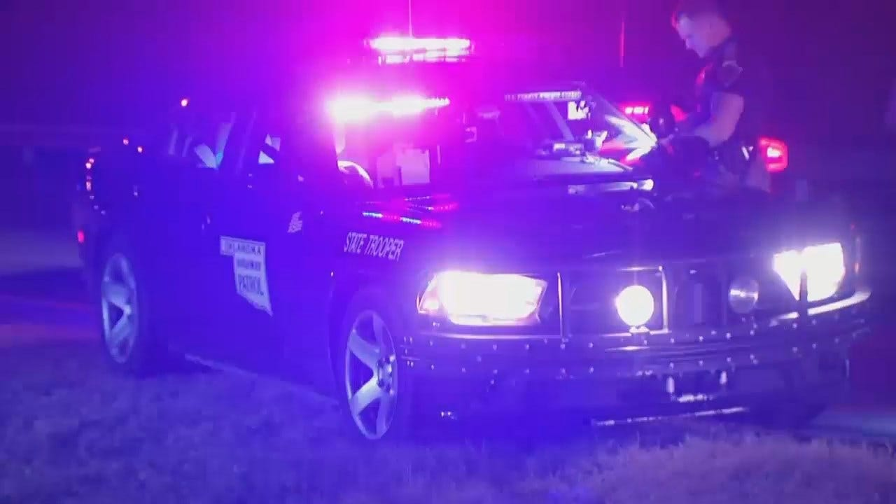 WEB EXTRA: Video From Scene Of OHP Tulsa High Speed Chase