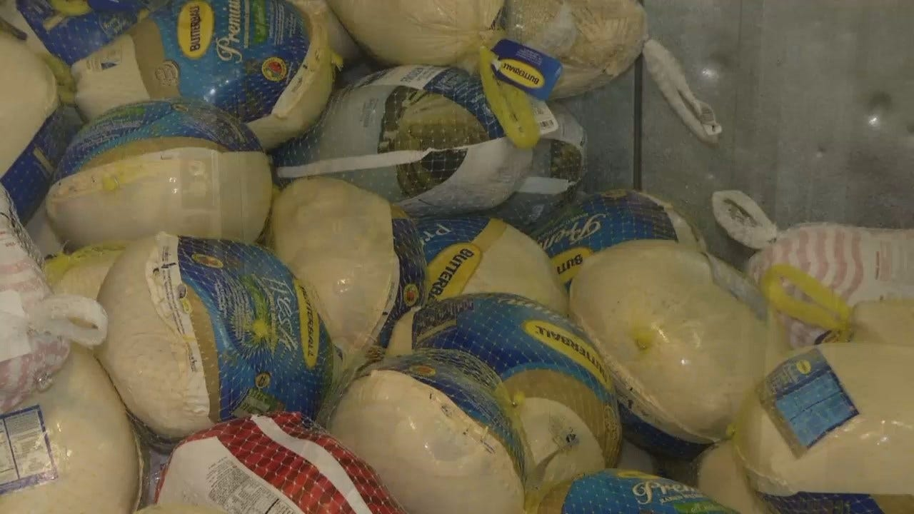 WEB EXTRA: Video Of Thanksgiving Donations At John 3:16 Mission