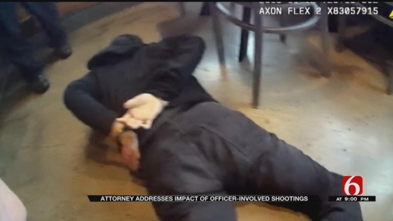Lawyer For Muskogee Officer Discusses Emotional Impact Of Lethal Force