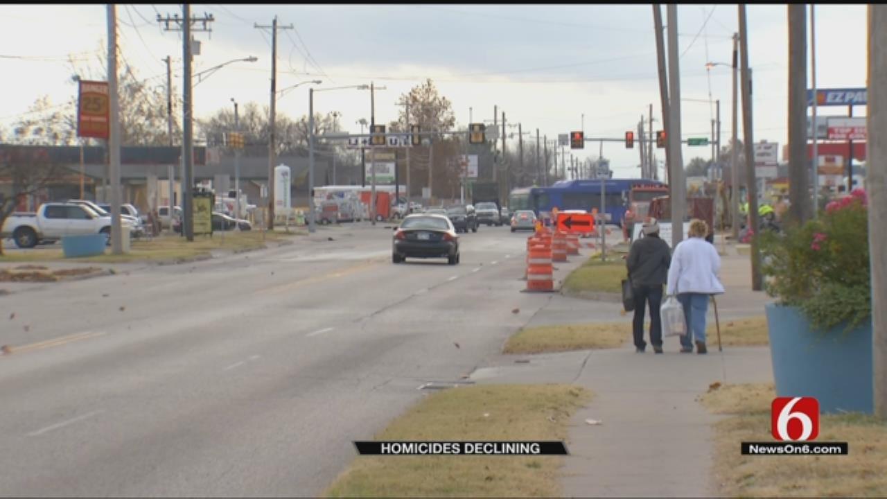 Tulsa Homicide Rate Drops In 2018