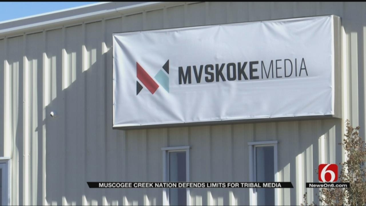 Muscogee-Creek Nation Suspends Free Press