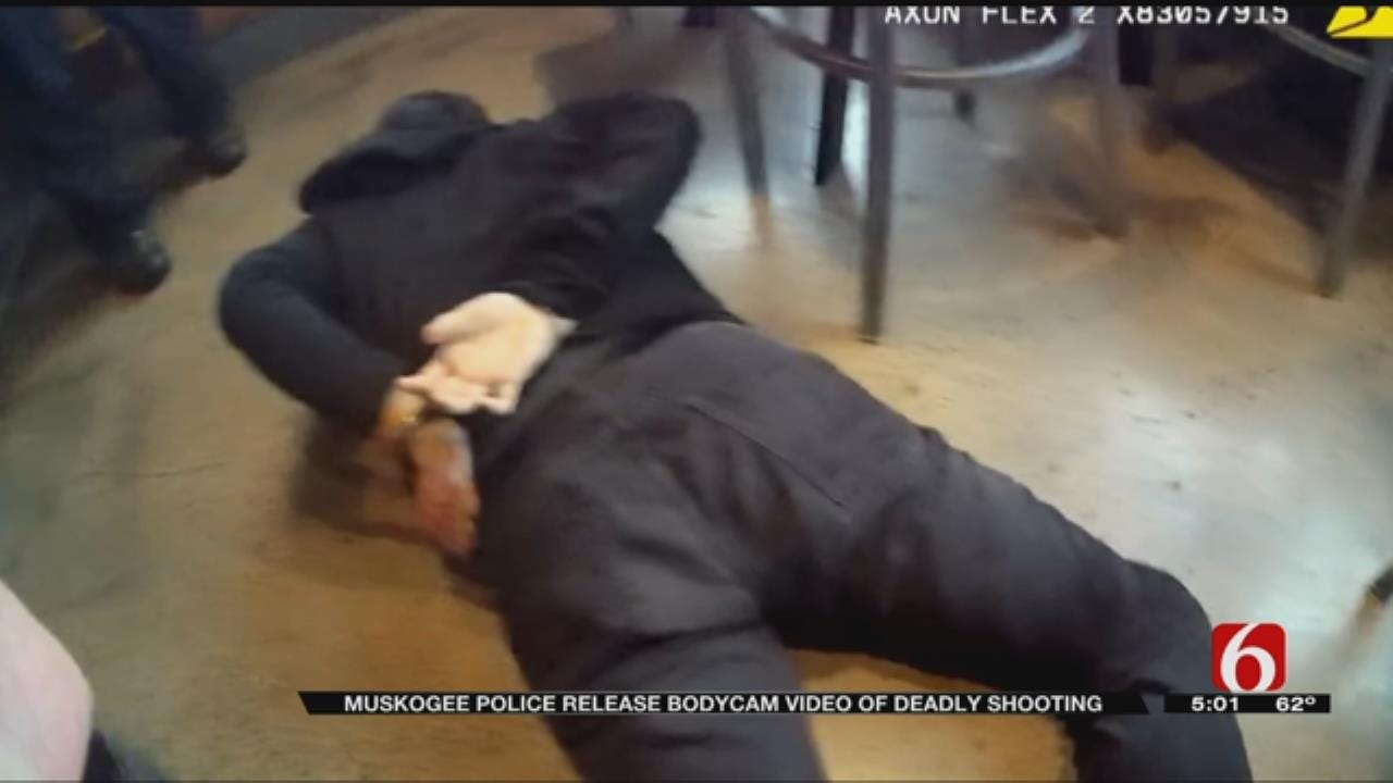 Muskogee Police Release Body Cam Video Of Officer-Involved Shooting